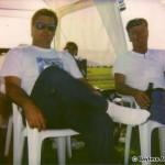 Kevin Bayless and Bob Anderson at Verdun 1995
