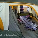 Microburst - thank goodness for kite tents
