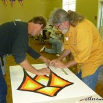 Robert Brasington helps Tony Ottis - Carlos