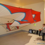 "Special - Grand Champion kite by Simon Crafts, titled ""Barnstormer"""