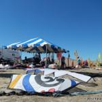 The main kite flier hangout when not flying