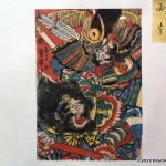 Large format, highly detailed kite painting