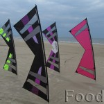 Revolution kites as banners