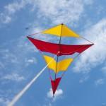 Ahlgrim kites on Antelope Island, UT