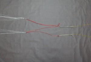Skin - Bridle for bar and beginner handles.