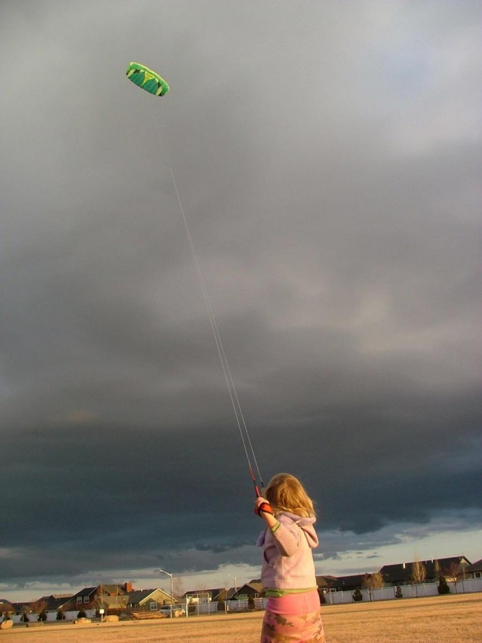 My 5yr old flying a Prism p-3