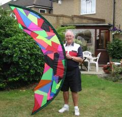 David with Patchwork Skydancer