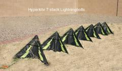 Hyperkite 7 stack lightingbolts