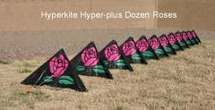 """Hyperkite 12 stack """"Hyper-plus"""" Dozen Roses"""