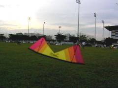 Lee Sedgwick at Sengkang Field...