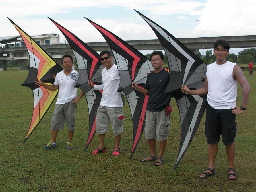 Flyers of Widow Maker in Singapore
