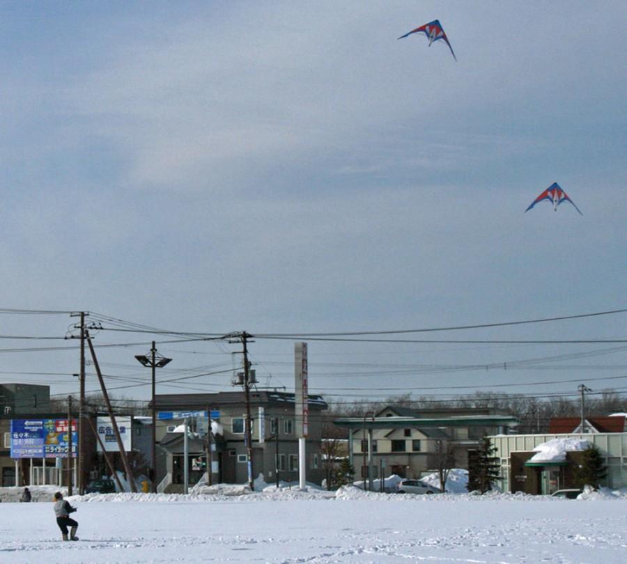 Feb.06.2011MK 2 kites flight by Honma.jpg