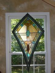 Stainglass Kite Window