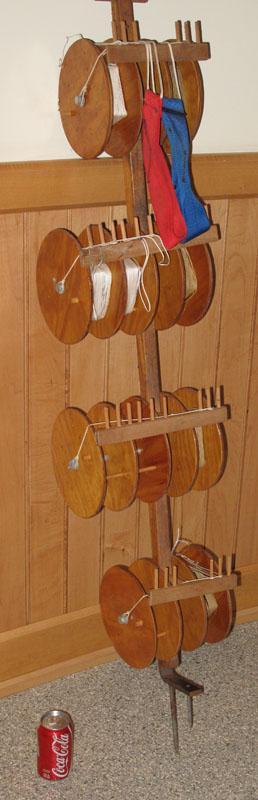 Kite Reel machine.