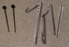 Stakes and ground anchors