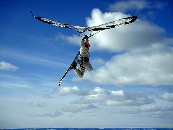 kitewing airborne