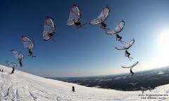 kitewing flight progression