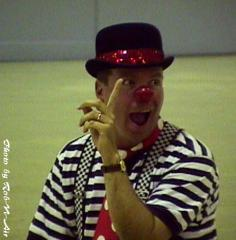 Mike Reagan, indoor clown