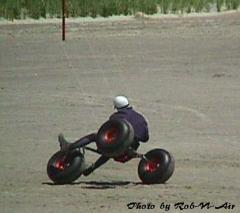Kite buggy freestyle