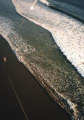 Aerial Beach Bali
