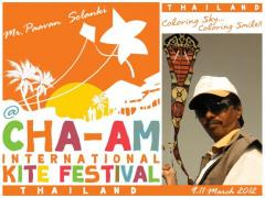 Cha Am International Kite Festival 2012