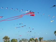 Sky full of kites