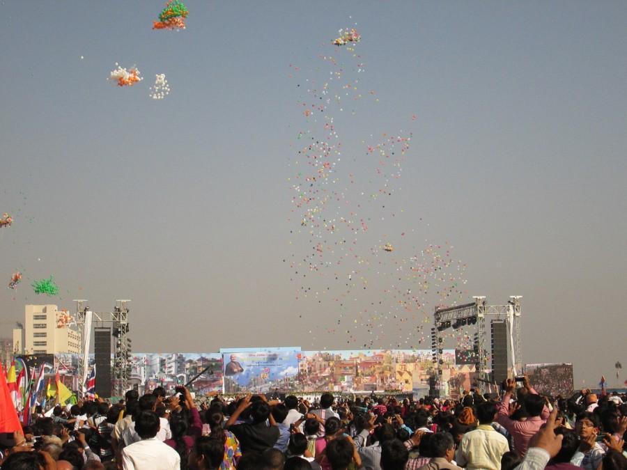 Kite Festival Ceremony - International Kite Festival 2013