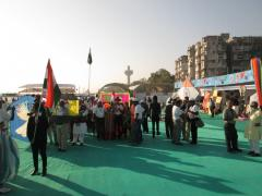 International Kite Festival 2013 - Ahmedabad, Gujarat, India
