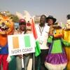 Ivory Coast Kite Flying Team at International Kite Festival 2013