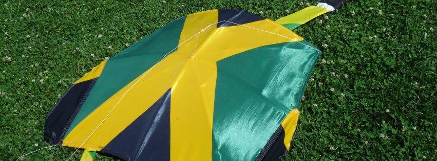 Jam flag kite