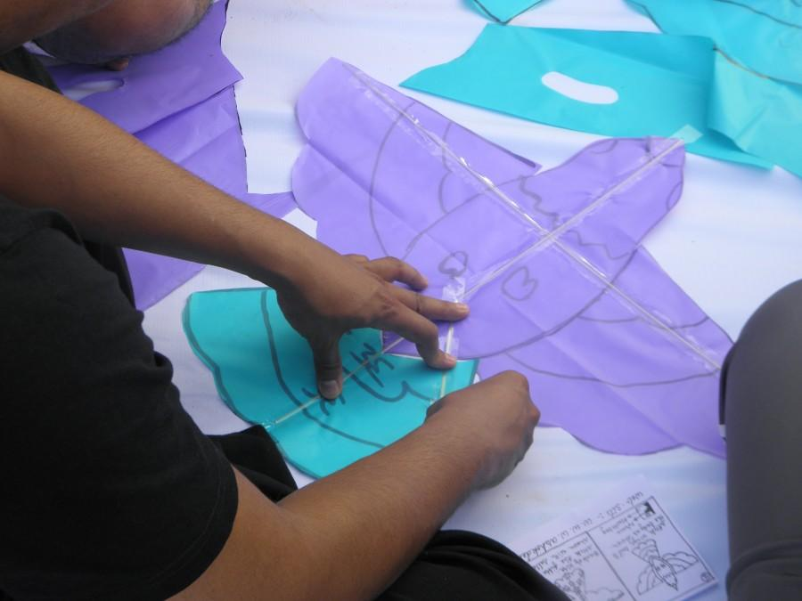 Kite Club India - Mahindra Rise Kite Workshop