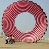 50 feet diameter ring kite