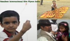 Kite World Records India, Smallest International Kite Flyers