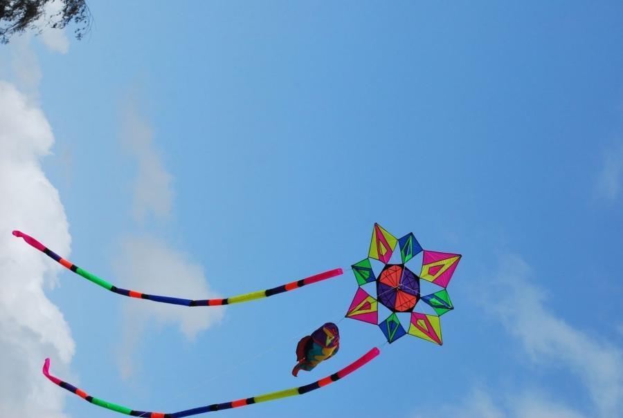 Red star kite