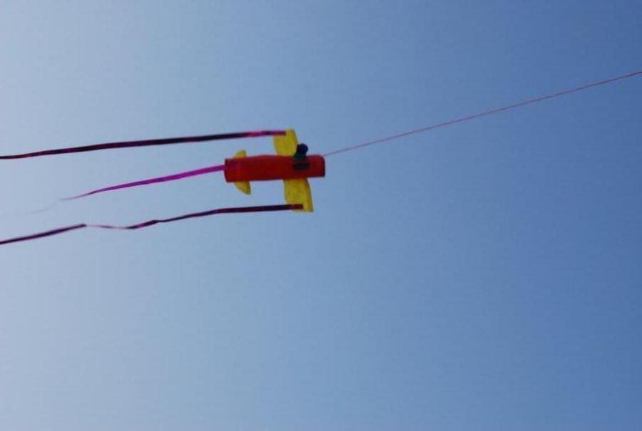 3D aeroplane mini kite