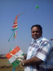 indian flag kite