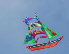 3D boat kite