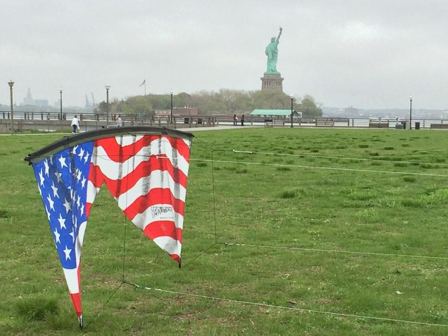 Liberty State Park with the Lady