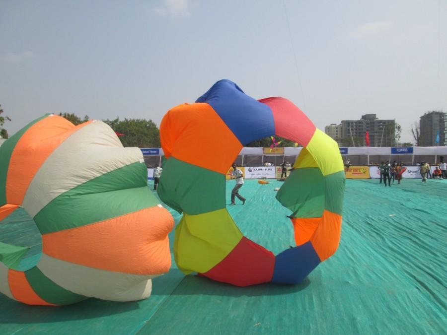 Royal Kite Flyers Club india at Pune Kite Festival