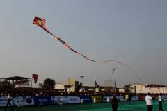 Longest Cobra Kite Flying by Royal Kite Flyers Club