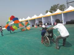 Disability Kite Flying by Royal Kite Flyers Club