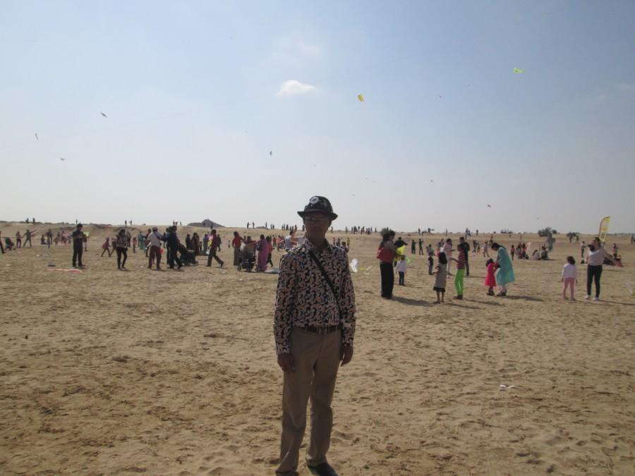 Paavan Solanki - Dubai International Kite Festival 2014