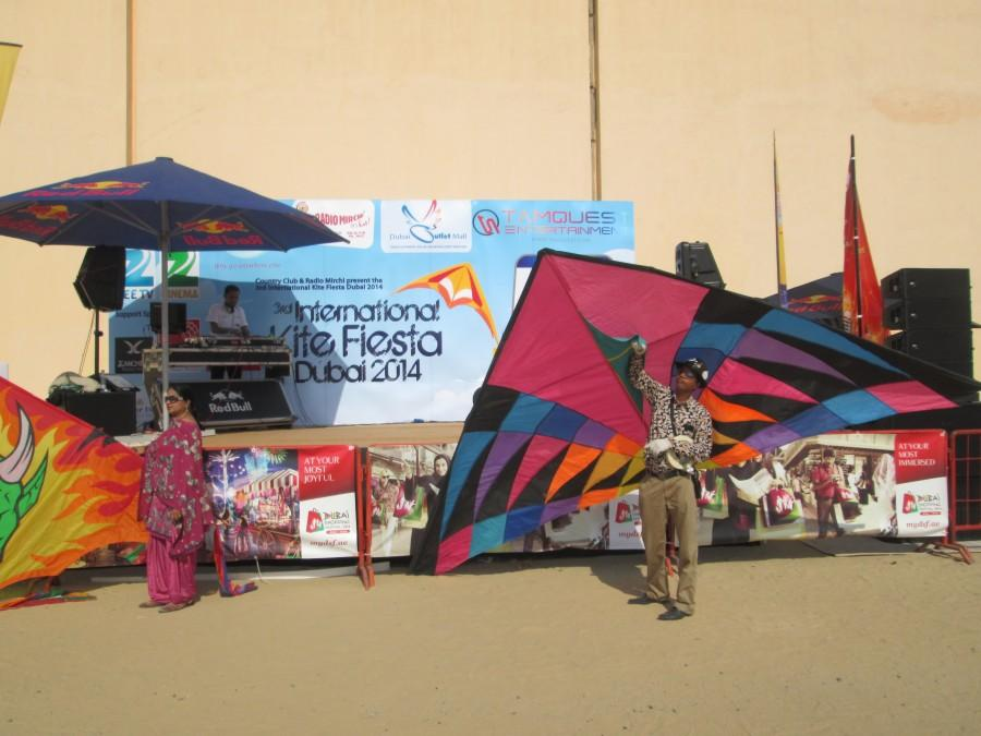Paavan Solanki - Interantional Kite Flyers at Dubai International Kite Festival 2014