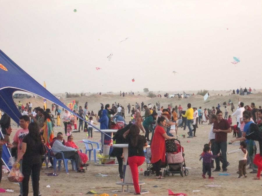 Dubai International Kite Festival 2014