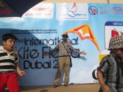 Paavan Solanki - Kite Flyers India at Dubai International Kite Festival 2014