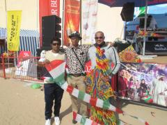 Sri Lanka Kite Flyers at Dubai International Kite Festival 2014