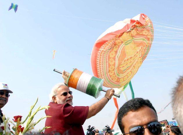 Narendra Modi - Chief Minister - Gujarat at IKF 2014