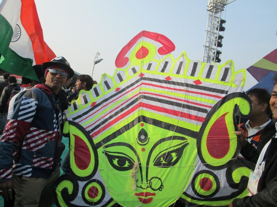 International Kite Festival 2014, Ahmedabad, Gujarat, India