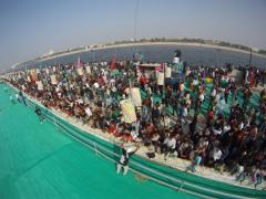 Kite Ariel Photography at International Kite Festival 2014, Ahmedabad India