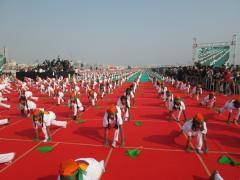 Royal Kite Flyers Club at International Kite Festival 2014, Ahmedabad